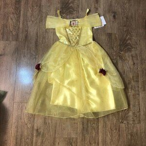 DISNEY COLLECTION BELLE DRESS SIZE 5/6
